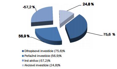 Axa akciový fond - portfólio